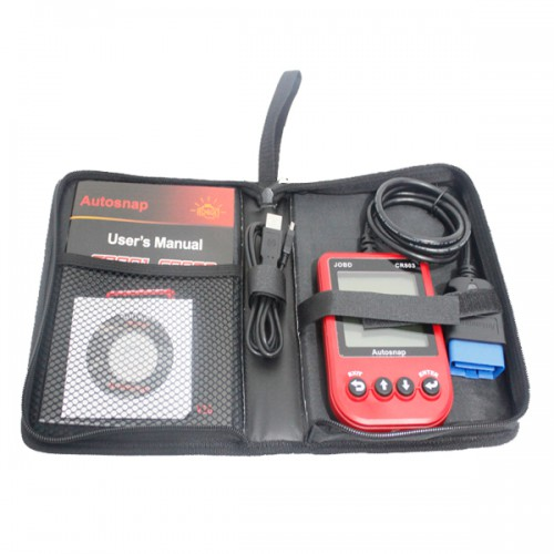CR803 JOBD Code Reader Red