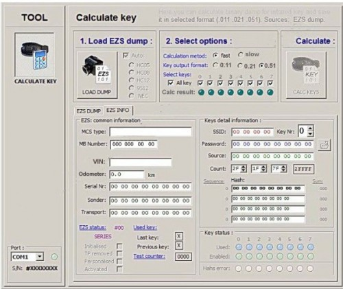 Key Generator From EIS Calculator Service One Token for MB Dump