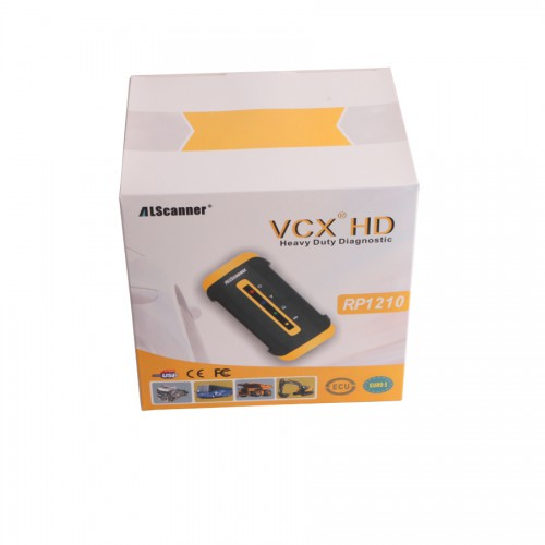 Allscanner VCX HD Heavy Duty Truck Diagnostic System for CAT, for VOLVO/HINO/Cummins/Nissan