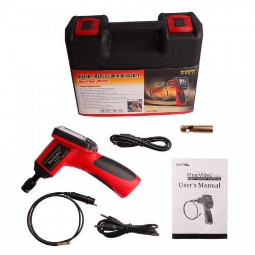 Autel Maxivideo MV208 Digital Videoscope with 5.5mm Diameter Imager Head Inspection Camera (choose so267)