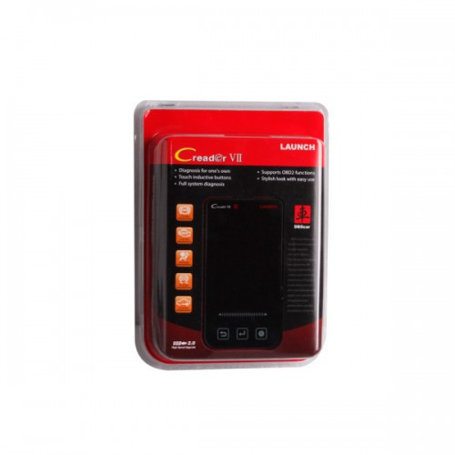 Original LAUNCH Creader VII Code Reader Diagnostic Full System