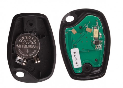 2 Buttons PCB Board (PCF7947) for Renault Free shipping