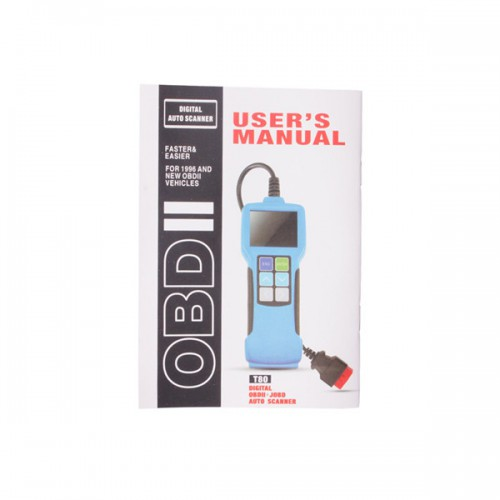 JOBD/OBD2/EOBD Color Display Auto Scanner T80 For Japan Cars livraison gratuite