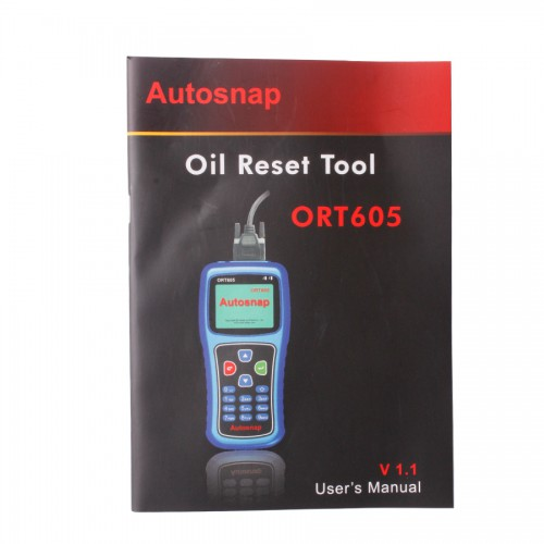 Autosnap ORT605 Oil Reset Tool