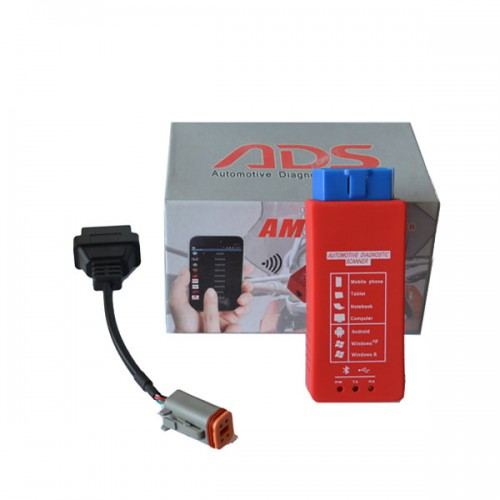 AM-Harley Motorcycle Diagnostic Tool with Bluetooth (Support Android/Win XP)