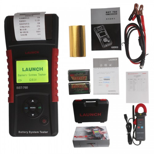 Launch BST-760 Battery System Tester en vente