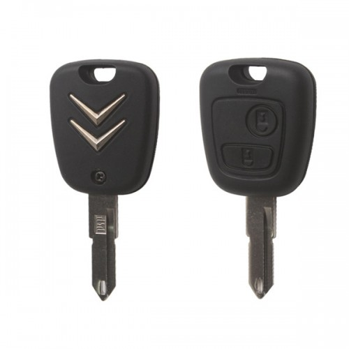 Remote Key 2 Button 433MHZ for Citroen C2 livraison gratuite