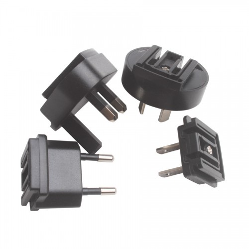 Dedicated Standard Large Current Power Adapter and US/EU/AU/UK Converter for the MVP Key Pro M8