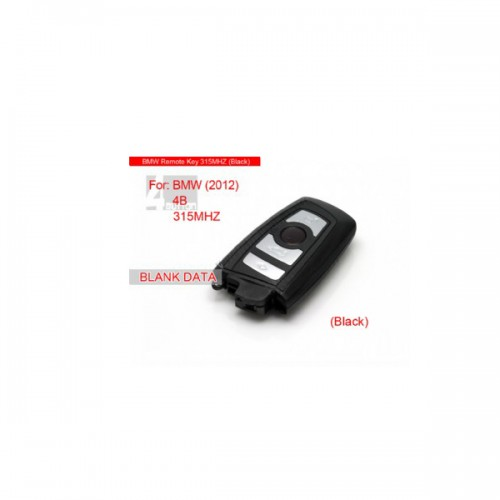 Smart Key 4 button 315MHZ 2012 For BMW Livraison Gratuite