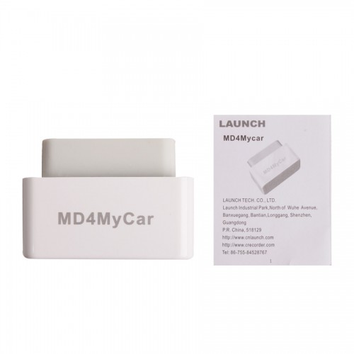 Launch MD4MyCar OBDII EOBD Code Reader Work With iPhone Via WiFi livraison gratuite
