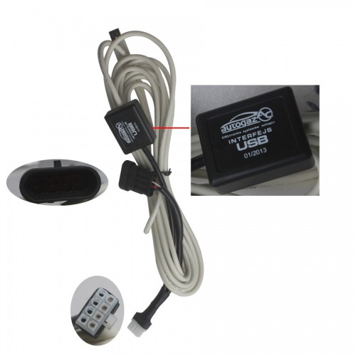 AUTOGAS USB Interface Cable for 4, 200, 300 LPG Livraison Gratuite