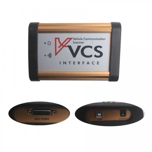 Vente VCS de communication de véhicule Scanner Interface Bluetooth Version vente chaude