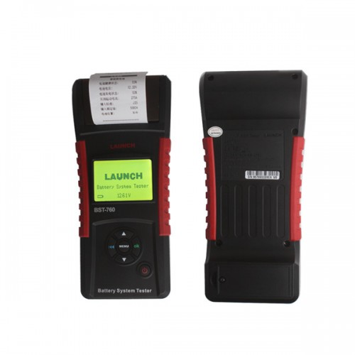 Original LAUNCH BST-760 Battery System Tester-EA En Vente
