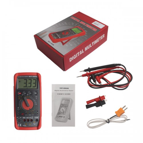 MST-2800B Intelligent Automotive Digital Multimeter Livraison Gratuite