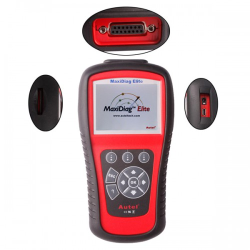 Autel MaxiDiag Elite MD702 Four System with Data Stream Diagnostic Tool