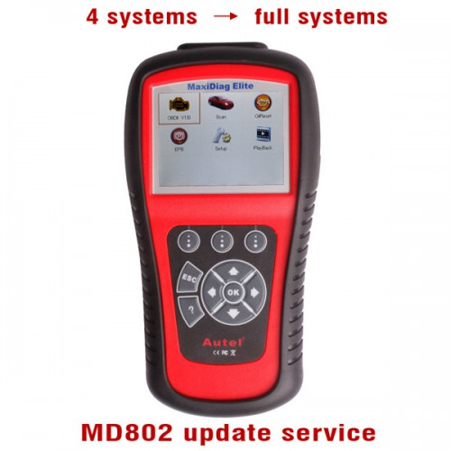 MaxiDiag Autel MD802 4 Update Service to All Systems Systems Livraison Gratuite