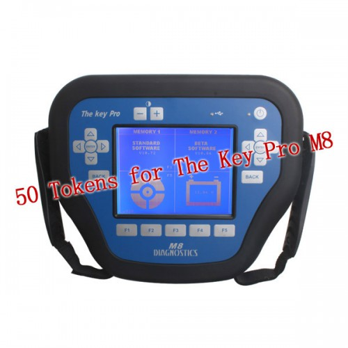 50 Tokens for The Key Pro M8 Auto Key Programmer