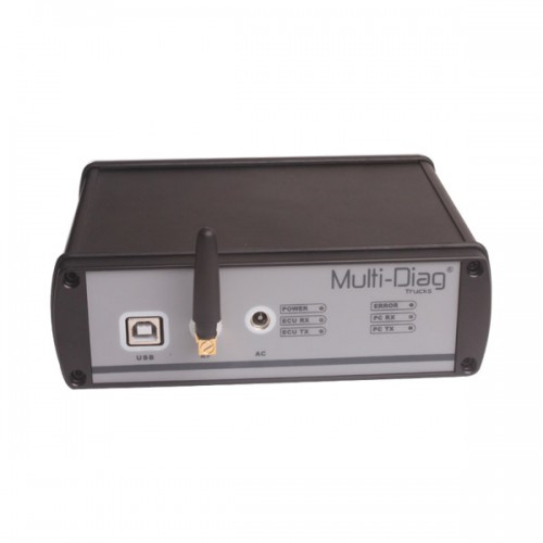 WAS Multi-Di@g Bluetooth Truck Diagnostic Appareil Pour Mercedes/IVECO/MAN/DAF/Volvo/Renault Heavy Duty