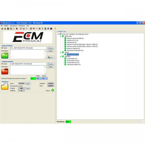 New Version ECM TITANIUM V1.61 with 18475 Driver Livraison Gratuite