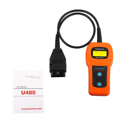 U480 OBD2 CAN BUS & Engine Code Reader