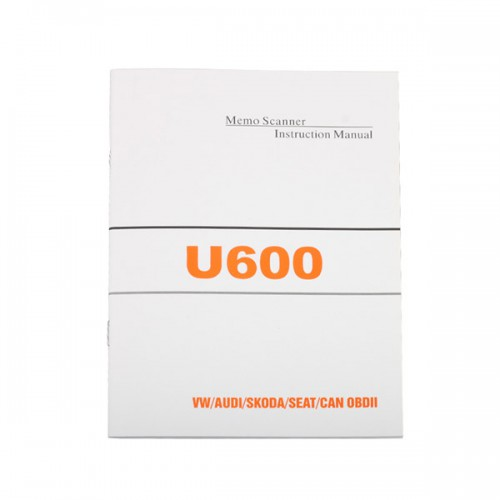 U600 OBD2 CAN-BUS Code Reader Live Data for VW/AUDI