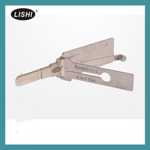 LISHI 2-in-1 Auto Pick and Decoder for Renault livraison gratuite