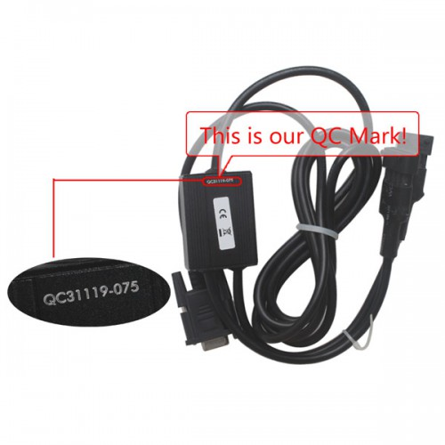 Doctor for Linde Diagnostic Cable With Software 2014V (6Pin and 4Pin Connectors)