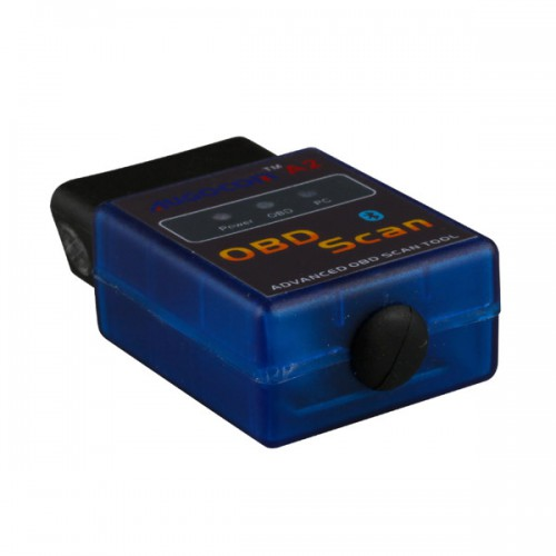 AUGOCOM A2 ELM327 Vgate Scan Advanced OBD2 Outil d'analyse Bluetooth (Support Android, Symbian) logiciel V2.1