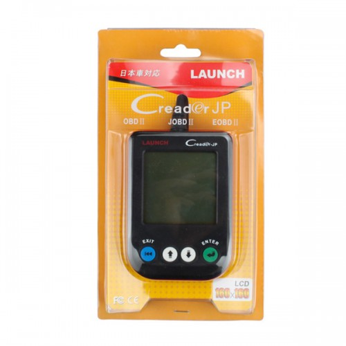 Launch X431 CREADER JP Car Universal Code Scanner Support JOBD Protocol,free shipping