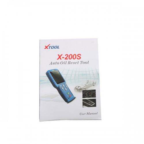 Xtool Oil Reset Tool X200S English