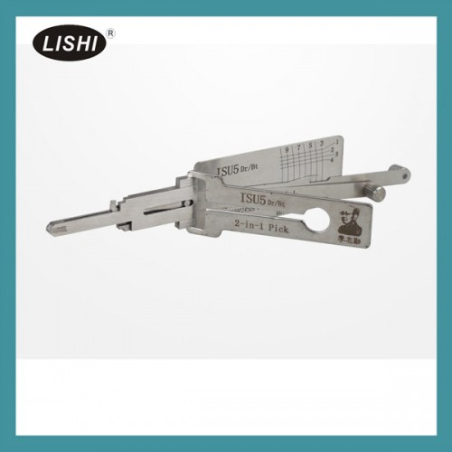 LISHI ISU5 2 in 1 Auto Pick and Decoder for Isuzu Truck livraison gratuite