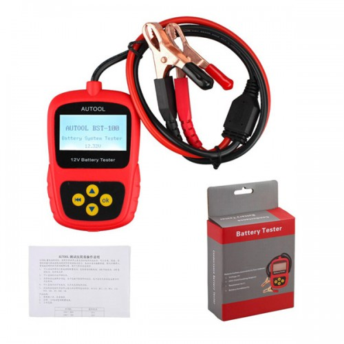 Original Launch BST-100 BST100 Battery Tester with Portable Design.free shipping