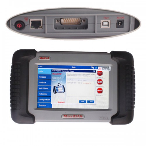Autel MaxiDAS® DS708 One Year Free Update Online