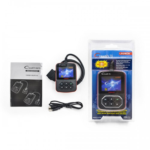 Launch X431 Creader 7S OBD II Code Reader + Reset huile Fonction Support multi-langue