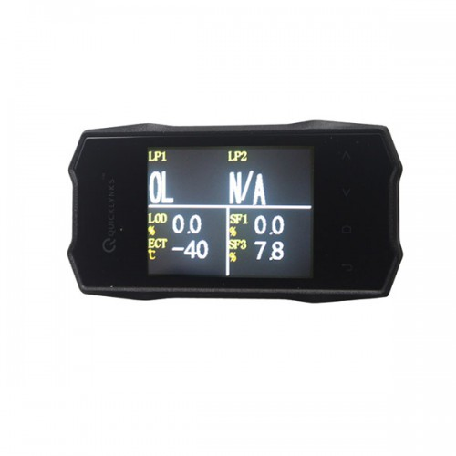 "QUICKLYNKS (TG6) TurboGauge VI 2.8"" Color Screen Auto Trip Monitor livraison gratuite(choisir SP143-B)"