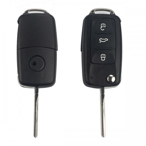 Remote Key Shell 3 Button for VW (for 202AD 202H 202Q) 5pcs/lot livraison gratuite