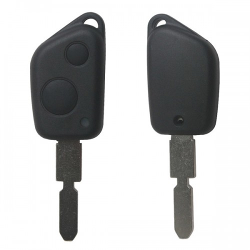 Remote Key Shell 2 Button for Peugeot 406 5pcs/lots