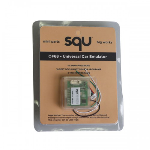 New SQU OF68 Universal Car Emulator Mini Parts Big Works Free Shipping