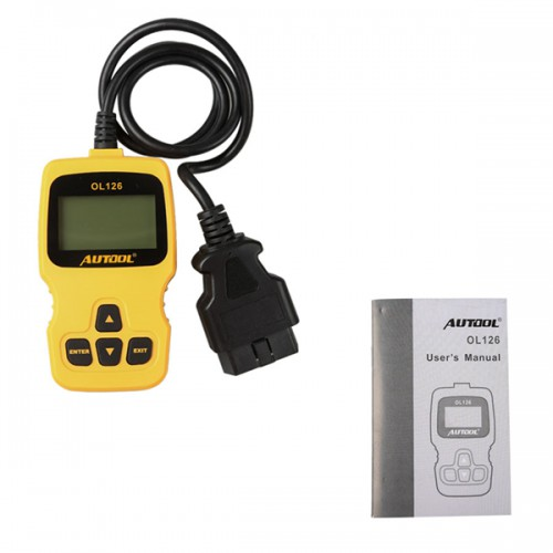 New Arival AUTOOL OL126 OBD/EOBD + CAN Auto Engine Diagnostic Tool Supports OBDII Compliant Cars