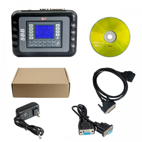 Dernière Version SBB Key Programmer V46.02 Support multilingue