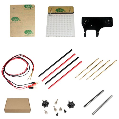 High Quality LED BDM Frame 2 in 1 with Mesh and 4 Probe Pens for FGTECH BDM100 KESS KTAG KTAG ECU Programmer