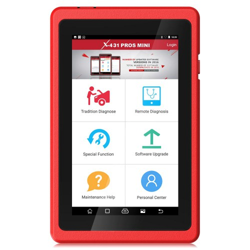 Version Française Launch X431 ProS Mini Android Pad Multi-system Multi-brand Diagnostic & Service Tool