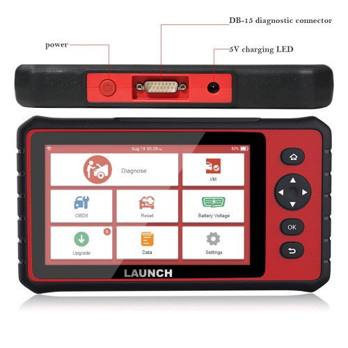 LAUNCH X431 CRP909 OBD2 Car Diagnostic Scanner Professional OBD2 Scanner Airbag SAS TPMS IMMO Reset OBD Auto Code Reader