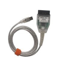 MINI VCI FOR TOYOTA TIS Techstream V9.10.038 single cable