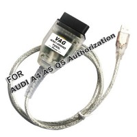 Authorization for V-A-G KM IMMO TOOL and Micronas OBD TOOL (CDC32XX) Cable for AUDI A4 A5 Q5