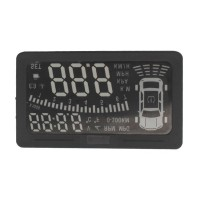 DS-300SE OBD II Heads Up Display HUD MILE KM Rpm Speed Overspeed Warning Battery Voltage Water Temp Livraison Gratuite