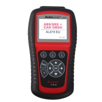 Original Autel AutoLink AL619EU ABS / SRS Can OBDII Outil De Diagnostique
