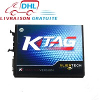 V2.10 KTAG K-TAG ECU Programmeur Master Version Hardware V5.001 avec 4GB Mémoire