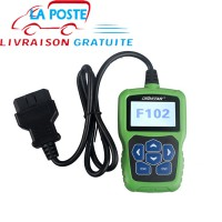 [Réduction de Prix] OBDSTAR F102 Nissan Infiniti Automatic Pin Code Reader with Immobiliser and Odometer Function