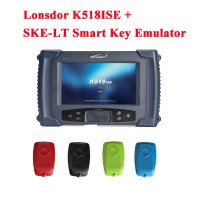 [Réduction de Prix] Original Lonsdor K518ISE Programmeur De Clé K518ISE Plus SKE-LT Smart Key Emulator 4 en 1 Set